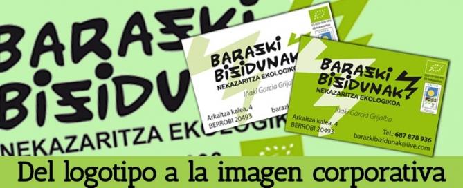 Barazki Bizidunak: del logotipo a la imagen corporativa