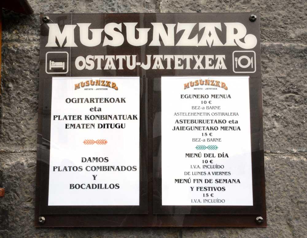 Musunzar menua