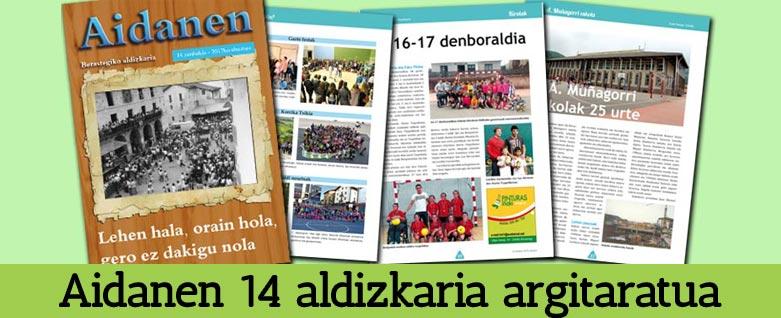 Aidanen 14 aldizkaria